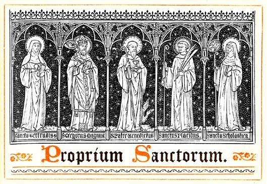 heiligenkalender der katholischen kirche